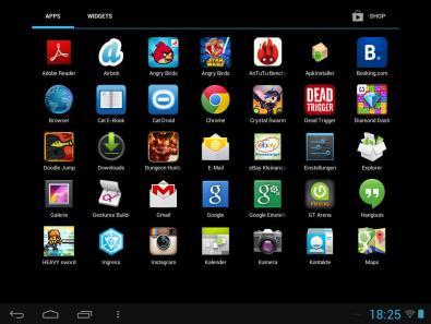 Apps. (Foto: GamingGadgets.de)