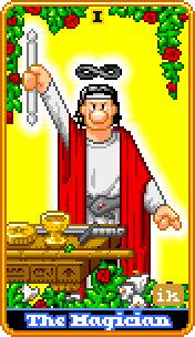 8-Bit Tarot. (Foto: Etsy)
