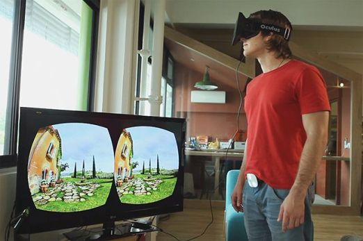 Kompatibel zur Oculus Rift (Foto: Kickstarter)