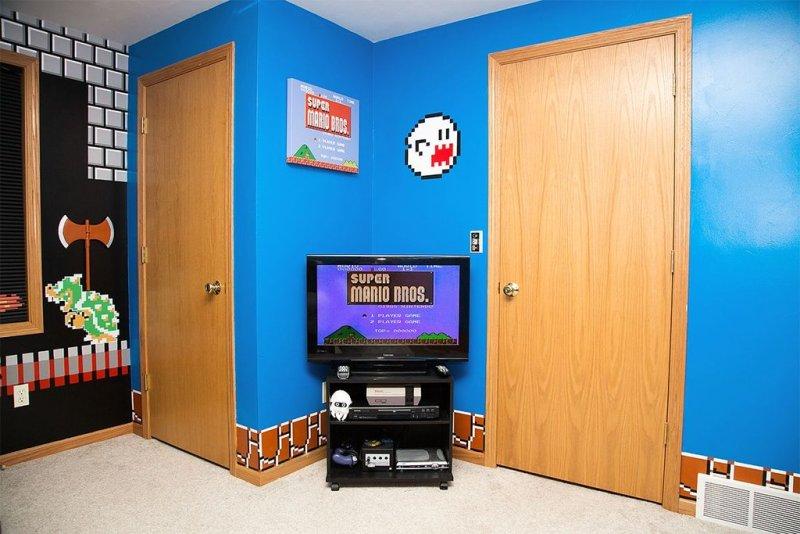Super Mario Bros.: Das perfekte Kinder- und Arbeitszimmer!