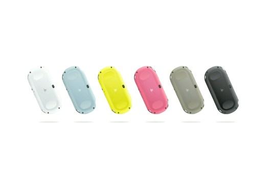 Farbige Modelle gibts von der Vita Slim in Japan. (Foto: Sony)
