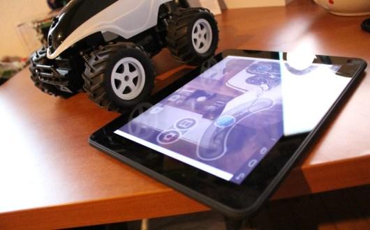 Buggy mit installierter App - hier für Android auf dem Galactica X von Cat Sound. (Foto: GamingGadgets.de)