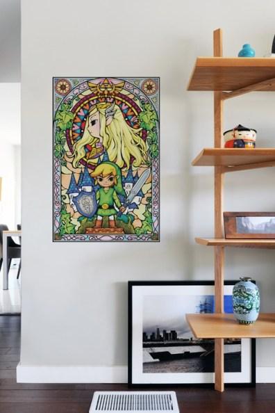 Zelda Wall Decals. (Foto: whatisblik)