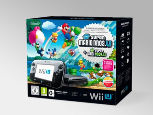 32GB-Wii U mit zwei Spielen. (Foto: Nintendo)