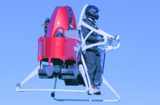 Würdet ihr gerne mit dem Testpiloten tauschen? (Foto: martinjetpack.com)