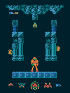 Metroid Level One Poster. (Foto: Harlan Elam)