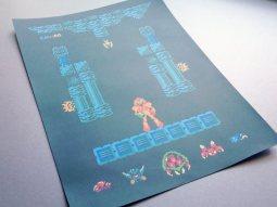 Metroid Level One Poster. (Foto: Harlan Elam)