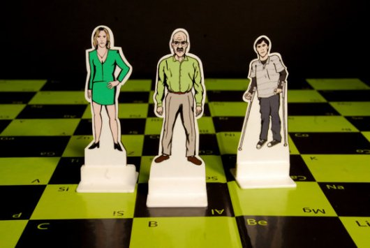 Breaking Bad Chess. (Foto: Etsy)