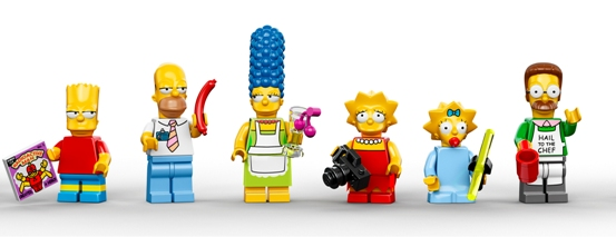 LEGO The Simpsons. (Foto: LEGO)