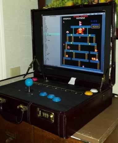 Briefcase Arcade. (Foto: Travis Reynolds)