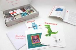 Bastelbögen & Handbuch gehören auch dazu (Foto: fritzing.org)