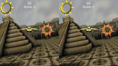 Gyrotroller für iOS. (Foto: GamingGadgets.de / Sven Wernicke)