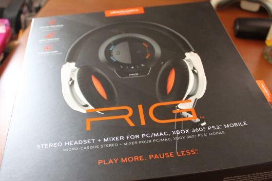 Rig in der Verpackung. (Foto: GamingGadgets.de)