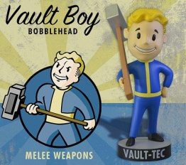 Meele Weapons Bobblehead (Foto: GamingHeads)