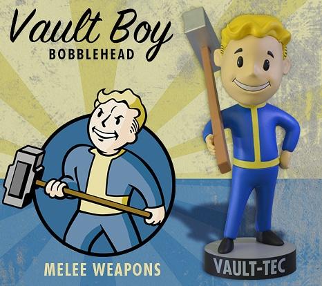 Meele Weapons Bobblehead (Foto: GamingHeads)