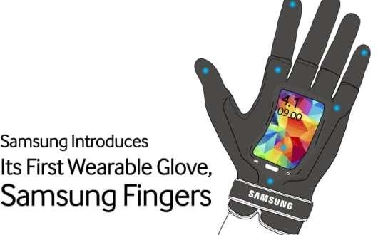 Der beste smarte Handschuh der Welt. (Foto: Samsung)