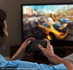 Fire TV möchte auch eine Spielkonsole sein. (Foto: Amazon)