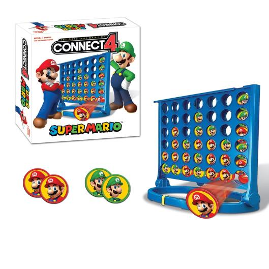 Super Mario Connect 4. (Foto: USAopoly)