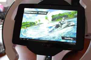 Das Tablet sitzt fest. (Foto: GamingGadgets.de)