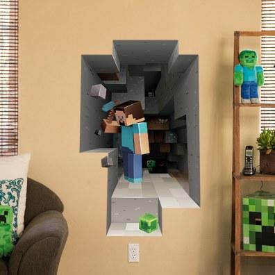 Minecraft Wall Clings Mining. (Foto: Jinx)