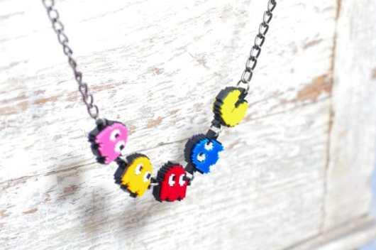 Pac-Man als Kette. (Foto: Etsy)