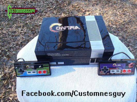 Contra. (Foto: Custom NES Guy)