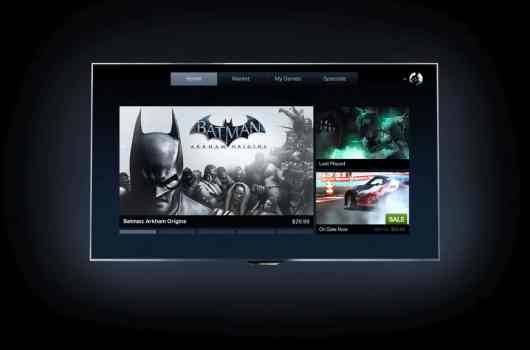 So wird OnLive auf Philips-TVs aussehen. (Foto: Philips)