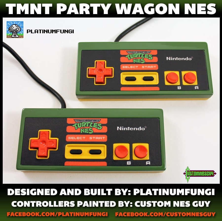 TMNT Party Wagon NES. (Foto: Platinumfungi)