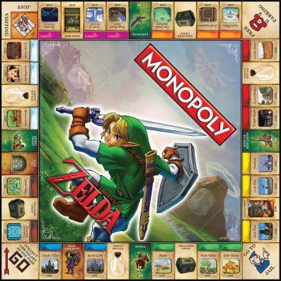Zelda Monopoly. (Foto: USAOpoly)
