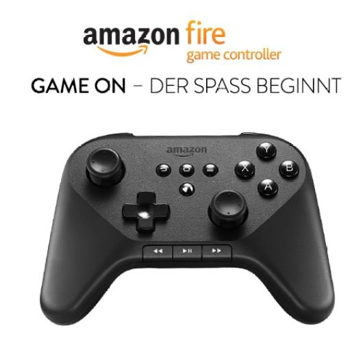 Der Controller für Fire TV. (Foto: Amazon)