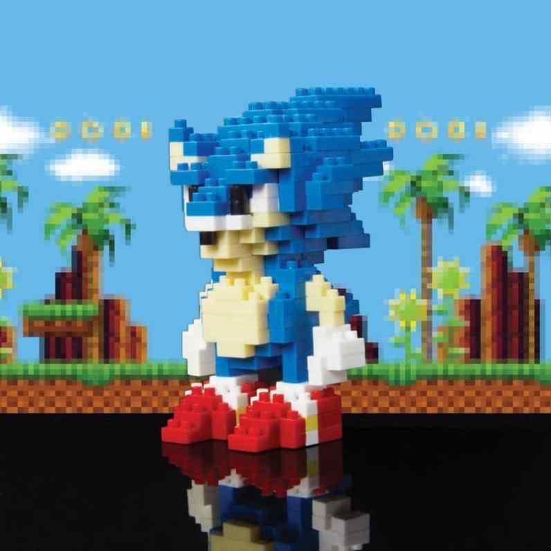 Sonic & Tails Pixel Bricks. (Foto: Red5)