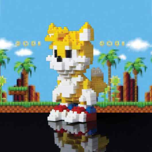 Sonic & Tails Pixel Bricks. (Foto: Red5)