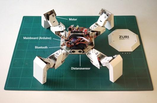 Sieht erstaunlich robust aus. (Foto: Zoobotics)