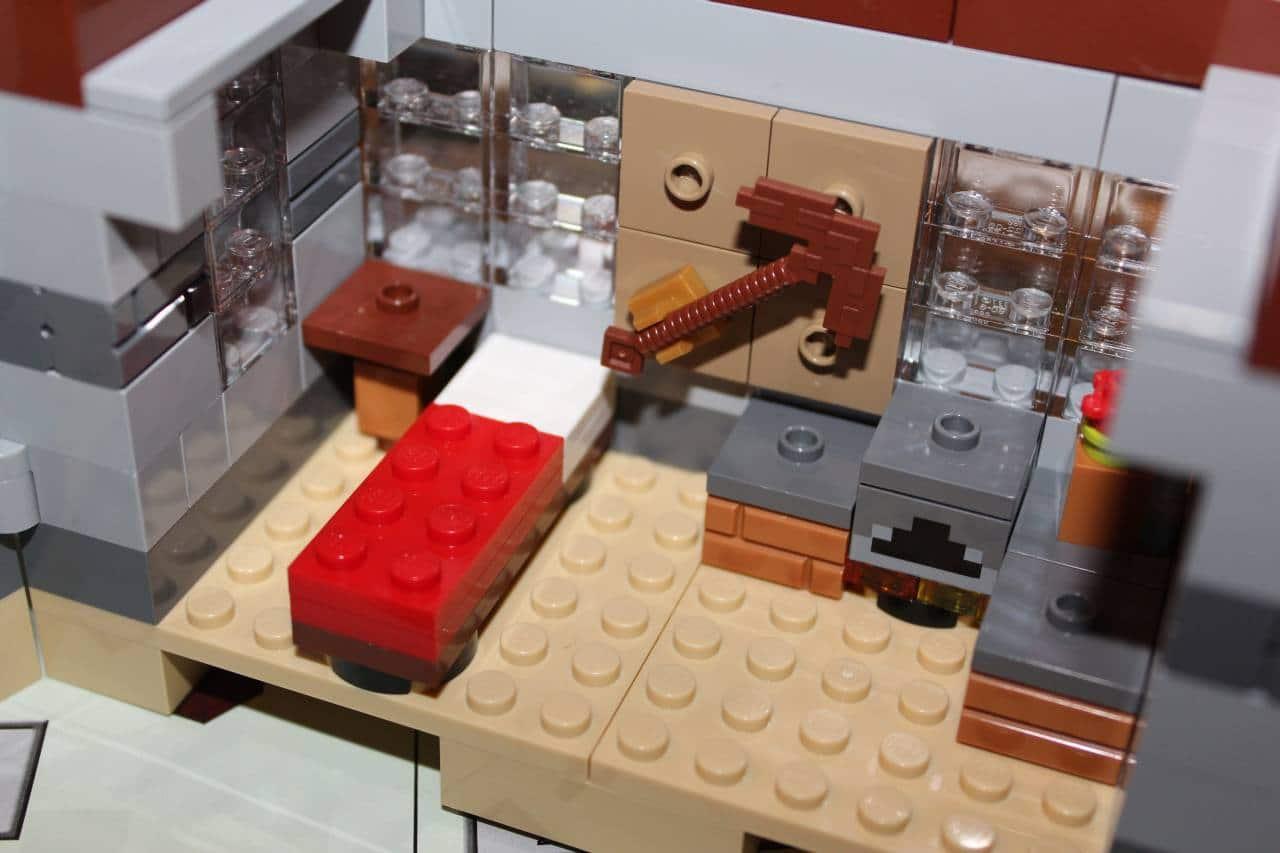 LEGO Minecraft Steves Haus Und Enderdrache Aufgebaut Der Praxistest - Lego minecraft haus bauen anleitung