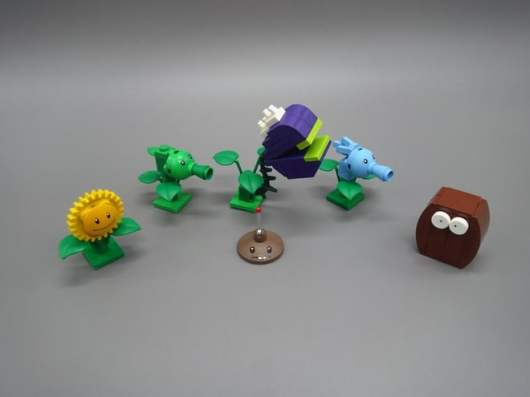 LEGO Plants vs. Zombies. (Foto: LEGO Ideas)