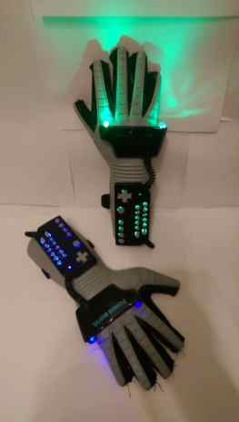 Nintendo Power Glove LED. (Foto: Etsy)