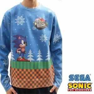 Christmas Jumper: Sonic (Foto: Funstock)