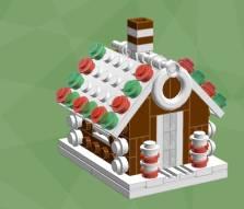Baut doch mal ein etwas anderes Lebkuchenhaus... (Foto: Chris McVeight)