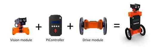 Beispiel für einen balancierenden Roboter. (Foto: Indiegogo)