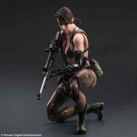 Quiet. (Foto: Play Arts / Kontami)