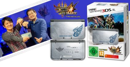 Monster Hunter 4 Ultimate Bundle. (Foto: Nintendo)