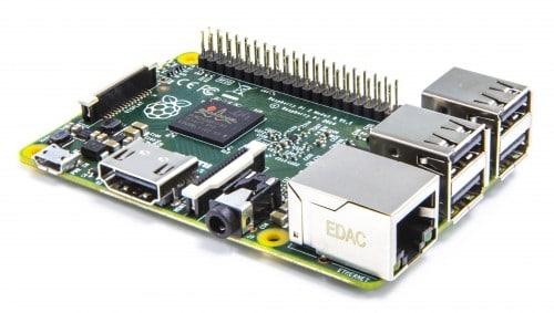 Das ist der neue Raspberry Pi 2. (Foto: Raspberry Pi Foundation)
