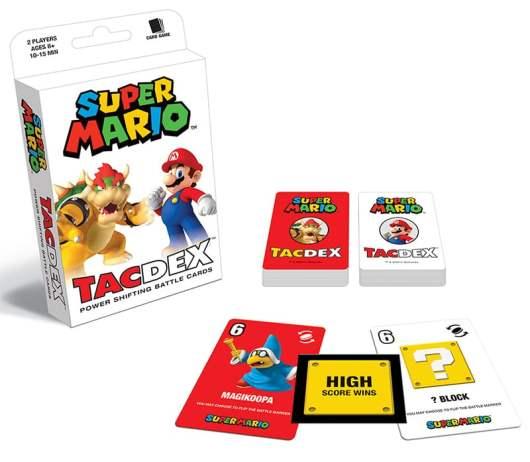 Einfaches Kartenspiel mit Mario. (Foto: USAOpoly)