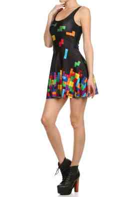 Tetris Skater Dress. (Foto: Poprageous)
