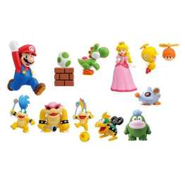 Super Mario Bros. Wii Furuta Choco Egg Figure Collection Set 01 (Foto: Entertainment Earth)