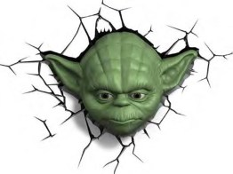 Star Wars 3D Deco Light: Yoda. (Foto: 3DlightFX)
