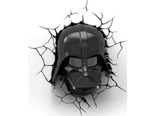 Star Wars 3D Deco Light: Darth Vader. (Foto: 3DlightFX)