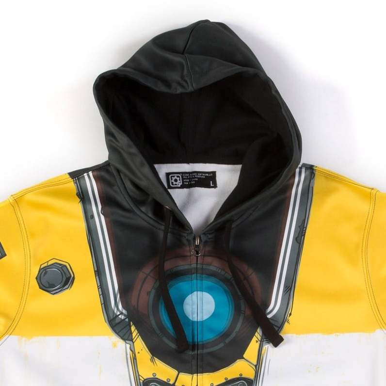 Claptrap Costume Hoody. (Foto: shopgearbox)