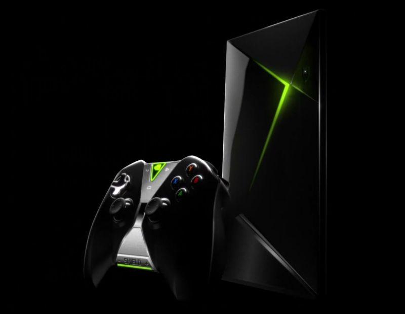 Zum Einsatz kommt der Shield Controller, der bereits für das Shield Tablet erhältlich ist. (Foto: Nvidia)