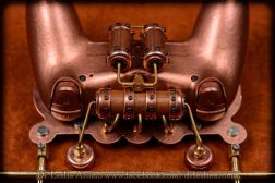 PS4-Controller im Steampunk-Look. (Foto: Dr. Leslie Aromo)